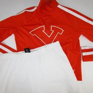 TN Vols Cheerleader Uniform Varsity Top + Skirt